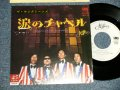 """キング・トーンズ キングトーンズ THE KING TONES THE KINGTONES - 涙のチャペル NAMIDA NO CHURCH BELLS  (Ex/MINT-) / 1980 JAPAN ORIGINAL """"WHITE LABEL PROMO"""" Used 7"""" Single"""