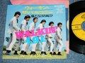 """フォー・ナイン・エース 4.9.1.( With JOE YAMANAKA / ジョー・山中 在籍)- ウォーキン・ザ・バルコニー WALKIN' THE BALCONEY ( Ex++/Ex++)  / 1967  JAPAN ORIGINAL 7"""" シングル"""