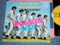 """フォー・ナイン・エース 4.9.1.( With JOE YAMANAKA / ジョー・山中 在籍)- ウォーキン・ザ・バルコニー WALKIN' THE BALCONEY ( Ex++/Ex++ Warp )  / 1967  JAPAN ORIGINAL 7"""" シングル"""